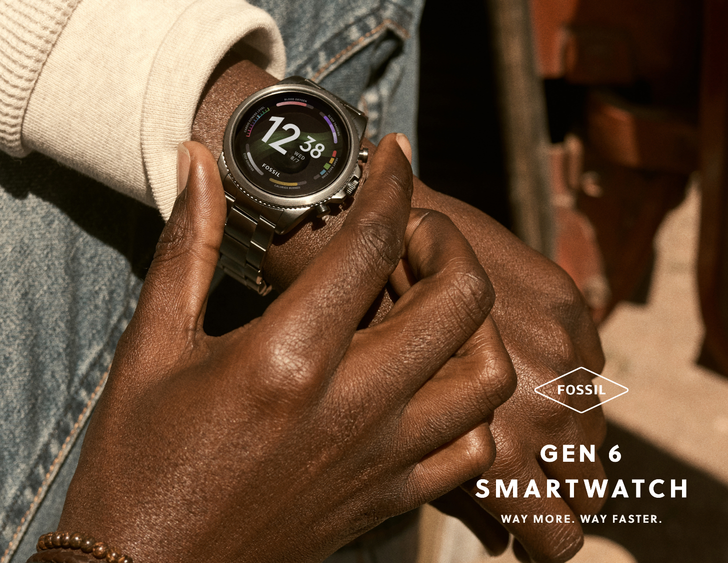 Fossil's new Gen 6 smartwatch taps into the power of Qualcomm's latest chip, ready and waiting for Wear OS 3