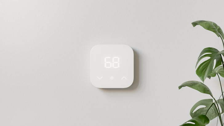 Amazon's Smart Thermostat wants to power your home's heating and cooling for $70 less than Nest